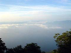 御鼻部山からの十和田湖