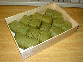 柿の葉寿司 中身