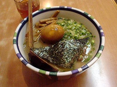 七志 角煮ラーメン+半熟煮玉子